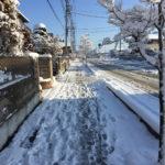 大雪後は、階段下りる時凍結していないか確認して歩いた方が良い!?